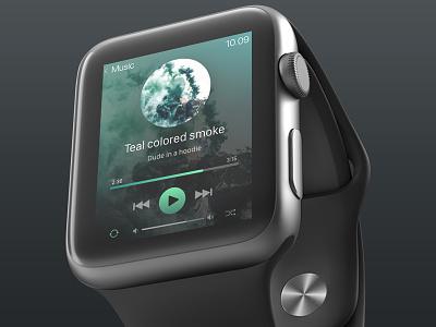 Daily UI #009 Music player 009 ui app apple watch design dailyui ui design collect ui daily ui 100 day ui challenge