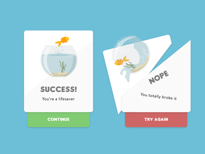 Daily UI #011 Flash messages design dailyui ui design collect ui daily ui 100 day ui challenge