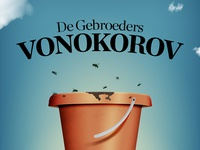 Flyer for The Vonokorov Brothers