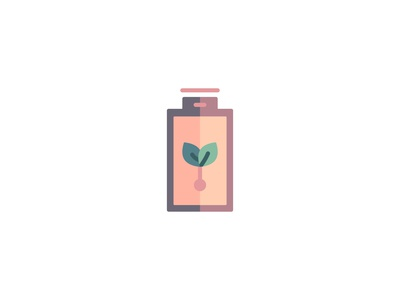 Battery Icon flatdesign energy battery illustration logo icons set icon a day iconography icons icon