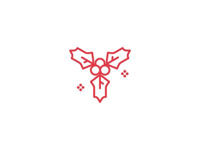 Mistletoe Icon illustration christmas mistletoe icon set logo iconography icons set icon a day icons icon