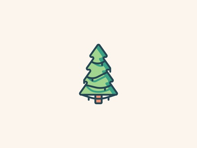 Tree Icon christmas forest tree logo illustration iconography icons set icon a day icons icon