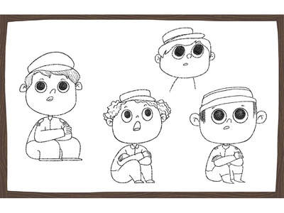 Scaring Story - Boys Design