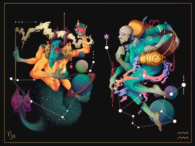 Astral.12 Capricorn & Aquarius