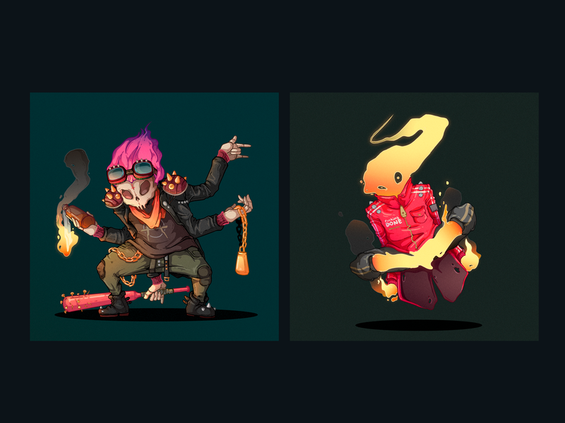 30 Days 30 Characters 29-30 freelance character designer peru design illustration character design
