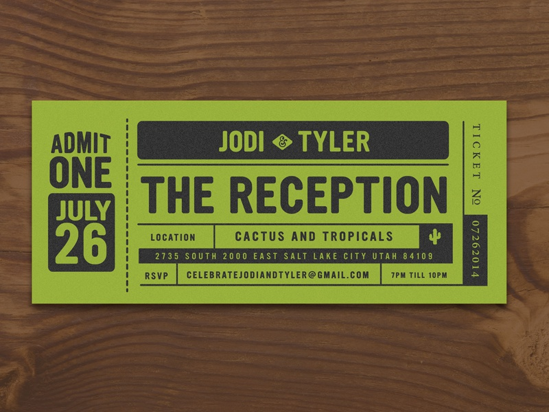 Friends Wedding Reception Invite typography logo illustrator type black icon branding identity