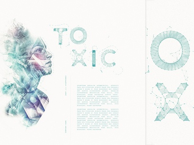 Playing Around  3d landingpage illustration fractals web double exposure branding typography