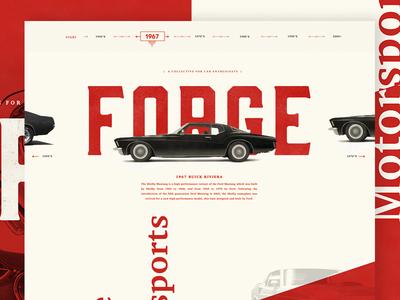 Quick Splash Page ux ui typography redesign editorial hero webdesign car splash