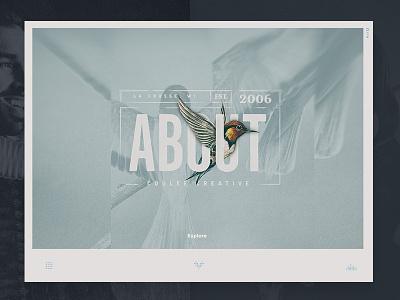 Sneak Peak landingpage lockup photography flat clean mobile layout typography ui ux homepage hero