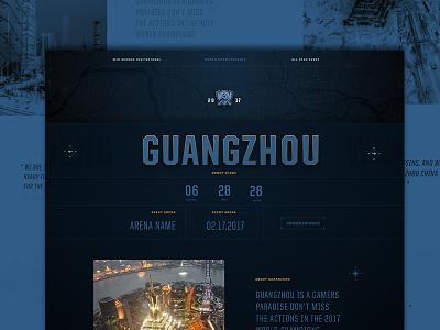 League of Legends E-Sports landing home scifi editorial typography face comp ui ux homepage landingpage