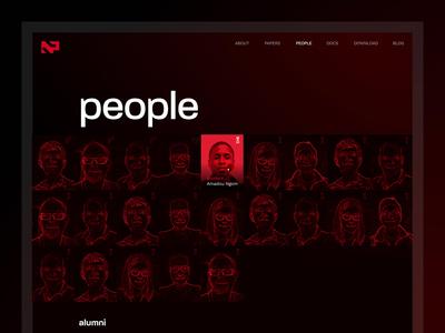 Noise Team illustration ui ux webdesign team