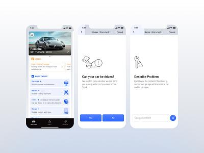 Garaji ui ux apps cars
