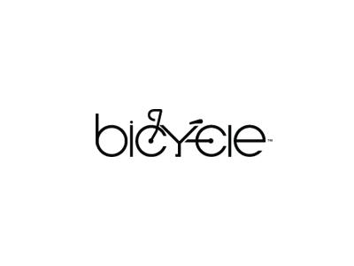 Bicycle best typography logos bicycle logo typography logo