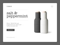 Minimal Product UI