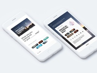 Travel App Coupon Design