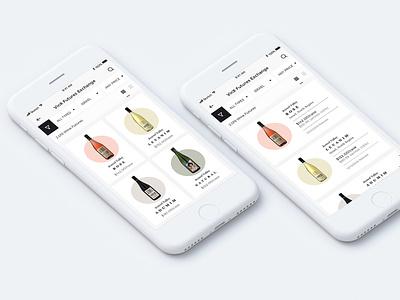 Vinx Future Exchange - App Design ui design ui ux clean minimal