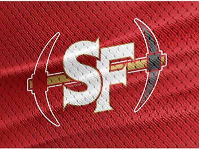 San Francisco 49ers Concept Logo concept logo san francisco 49ers 49ers san francisco nfl football