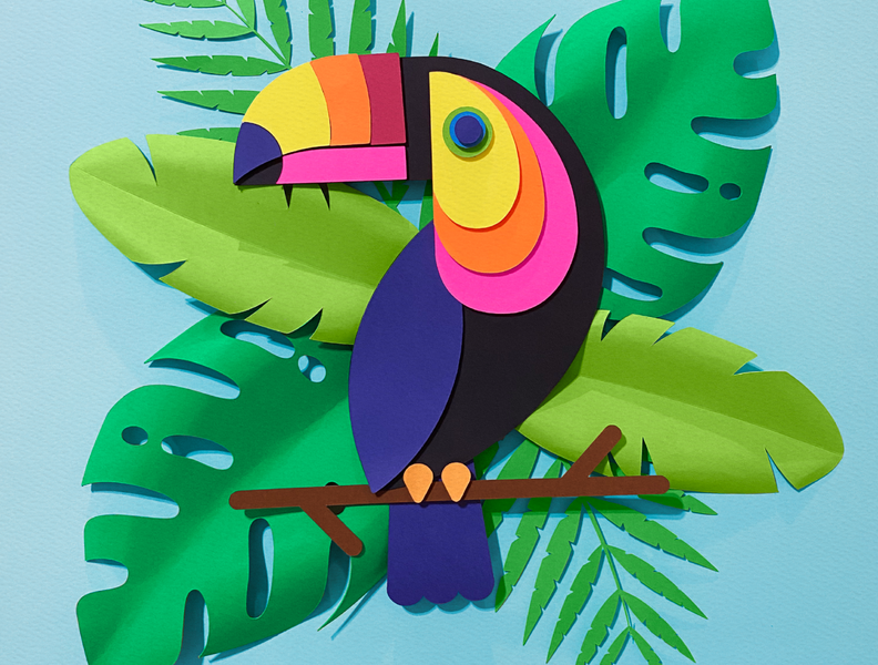 Paper Toucan