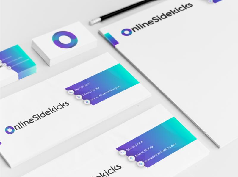 New Brand Identity for Online Sidekicks