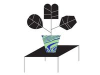 Geometric Plant Illo