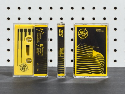 TR12 Cassettes typography type layout cassette