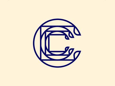 C Logo graphic identity branding icon logo
