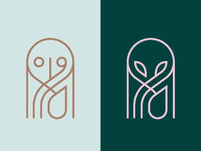 Op Earth branding identity brand logo alien