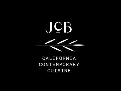 JCB Monogram cuisine restaurant logotype monogram typography type branding logo