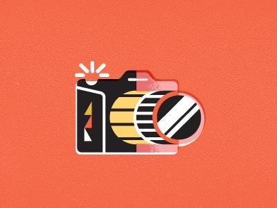 Camera camera film slr lens icon