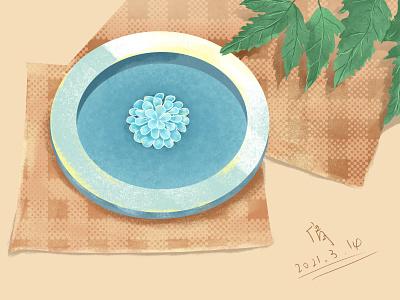 Weekly drawing,illustration design(007) flat ui illustration design