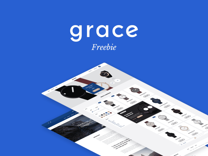 Download Grace UI Kit: FREE Samples