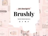 Brushly Social Media Pack