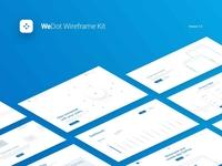 WeDot Wireframe UI Kit