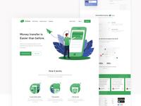 Migo App Landing Page Pack