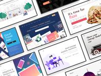 Seva Header UI Kit Pack Vol.3