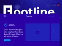 Rootline Wireframe UI Kit