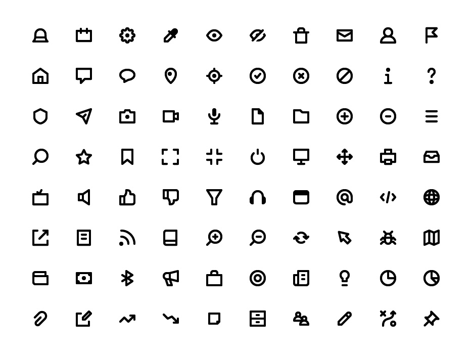 Download Essentials Icon Pack (FREE) by Mousecrafted on Dribbble