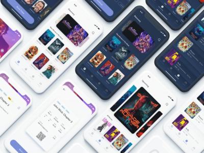 CineBox Movie App UI Kit