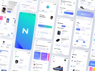 Neura e-commerce UI Kit