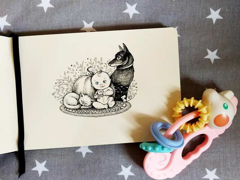 Inktober 2019 flowers photography cute illustration environment telegram stickers childrens illustration children book illustration inktober2019 inktober animals pets pen art tattoo childrens book children illustration black-and-white