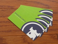 Winsor Circle Business Cards
