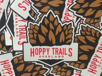 Hoppy Trails Overland Stickers