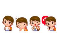 Short hair Girl~