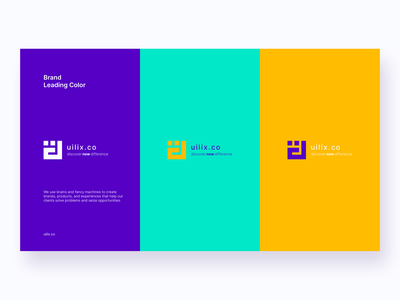 uilix.co logo redesign concept. direction artistique drawing direction creative design branding concept branding agency branding and identity creative branding design branding startup corporate colorful flat web illustration ux ui design clean
