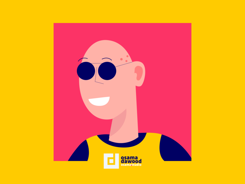 New character illustrations colorful clean flat yellow vector minimal mark illustrator 2d character color character illustrations design illustration 2d