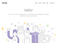 ouno.co Landing Page