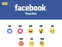 Facebook reaction x2