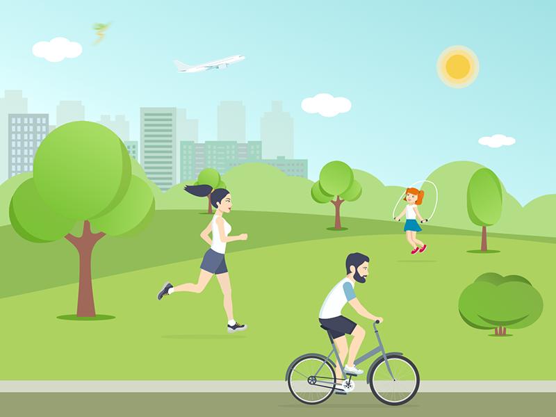 Lifestyle illustration lifestyle web ux ui startup set icon free filled download clean ai