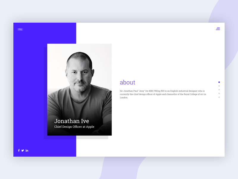 Bio Pages clean colorful corporate design flat illustration responsive sketch startup ui ux web