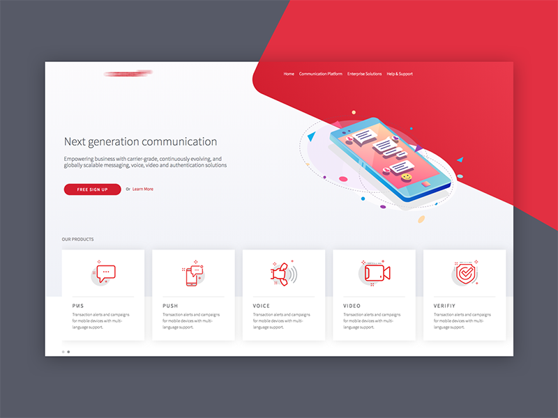 CQ Site web ux ui startup sketch responsive illustration flat design corporate colorful clean